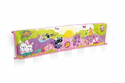 Fisher-Price Woodland Friends Twinkling Lights Crib Rail Soother, Pink New