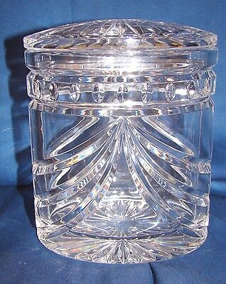 Waterford Overture Oval Biscuit Barrel Jar