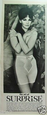 1964 SURPRISE Panty GIRDLE J'Maka for Jamaica Shorts Vintage Lingerie photo Ad