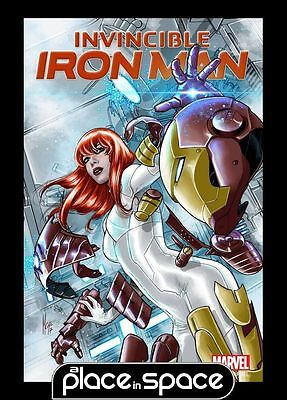 Invincible Iron Man, Vol. 3 #8B - Mary Jane Variant (Wk25)