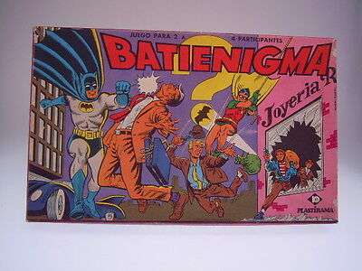 "Gscom Batman, Argentinian ""batienigma"" Board Game, Komplet, Sehr Gut/very Good !"