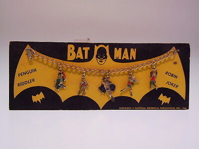"GSCOM ""BATMAN BRACELET WITH 5 FIGURES"" PERIODICAL PUBL.1966, 25x15cm VERY GOOD"