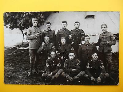 Group of Soldiers Royal Buckinghamshire Hussars ? RP ex Wolverton March 1914