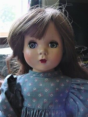 1950's Hard Plastic Doll Unmarked with Alexander's MAGGIE face