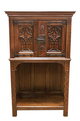 Attractive French Gothic Cabinet or Credenza, Circa 1900
