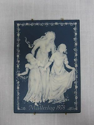 1978 Villeroy + Boch Limited Edition Muttertag Mother's Day Plaque