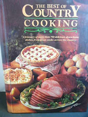 THE BEST OF COUNTRY COOKING More Than 750 Delicious Recipes Cookbook Cookbooks