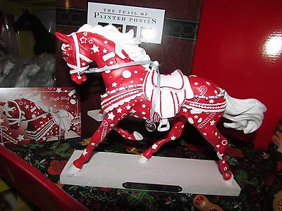 2017 Trail of Painted Ponies Jingle Bling HORSE Figurine 1E/0833 NIB Story Card