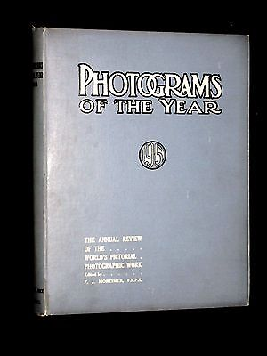 Photograms Of The Year. 1915. Early Photography.  Edward Weston. Guido Rey.