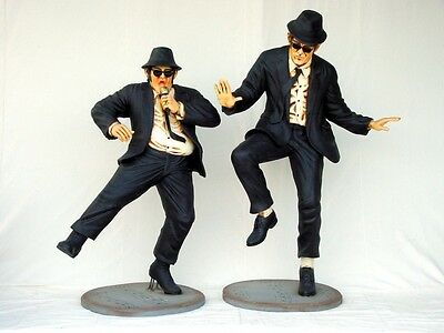Life Size Fiberglass Blues Brothers Statue Set Museum Quality!!! *Gas & Oil