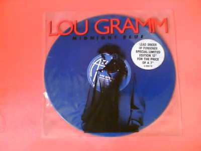 "LOU GRAMM Midnight Blue Limited Edition 12"" Blue Vinyl! Foreigner"