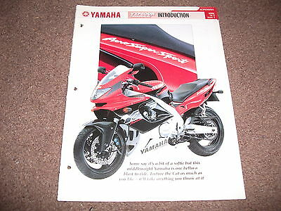 YAMAHA YZF600R THUNDERCAT the complete data file from essential superbikes