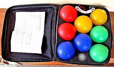 Garden Games, French Boules For Upto 4 Players, Includes Jack, Measure & Divot