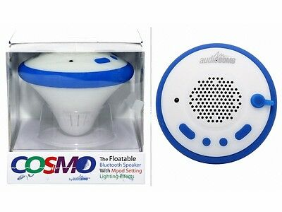 Cosmo Swimming Pool/ Spa  Floatable Bluetooth Speaker with Mood Lighting  12251