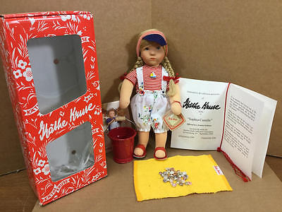 2008 Modern Doll Collectors Convention Kathe Kruse Sophia Camille 10""