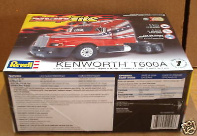 Kenworth T-600A Truck Revell 1:32 scale Kit  HOBBY TIME MODEL SHOP