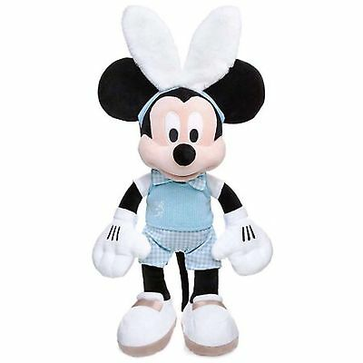 Disney Store Deluxe Mickey Mouse Easter Bunny 2017 Medium Soft Toy 48cm - NWT