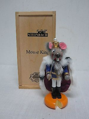 """Steinbach Nutcracker Tchaikovsky's """"mouse King"""" Limited Edition Mint In Box"""