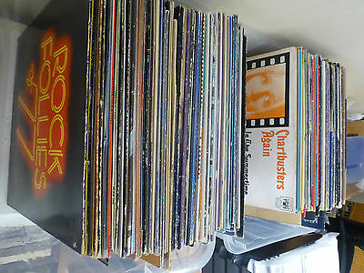 JOB LOT OF LPS/ALBUMS GROUPS/MALE/FEMALe/COMPILATIONS 250+ ALBUMS