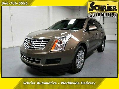 2014 Cadillac SRX Luxury Sport Utility 4-Door 14 Cadillac SRX Brown AWD Panoramic Roof Blind Spot Monitor