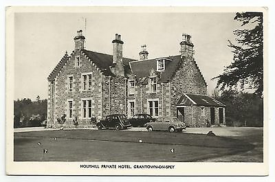 POSTCARD-SCOTLAND-GRANTOWN ON SPEY-RP. Holmhill Private Hotel.