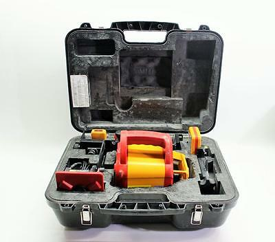PLS HVR 505R Self Leveling Rotary Laser & Receiver & Remote Control & Carrycase