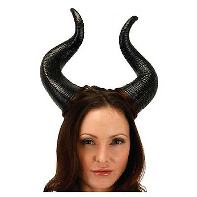 Maleficent Deluxe Horns Dark Fairy Devil Disney Adult  Costume Accessory
