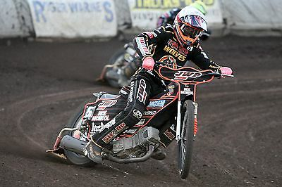 Wolverhampton Wolves---Sam Masters--2017--10X8--Speedway--Action Photo