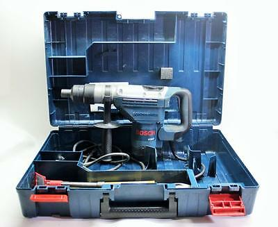 Bosch 11247 10 Amp 1-9/16-Inch Spline Combination Hammer W/ Case and A lot Bits