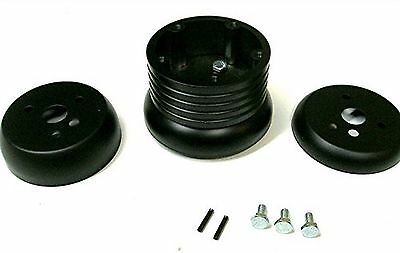 New World Motoring 5 /& 6 Hole Billet Steering Wheel Adapter fits 1974 to 1994...