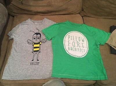Two Toddler Tshirts By Okie Dokie Size 4
