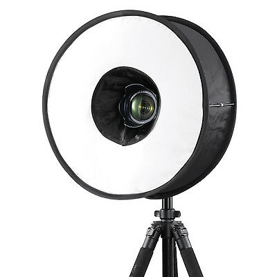 """Neewer 18""""/45cm Round Universal Collapsible Ring Flash Diffuser Soft Box"""