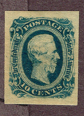 USA CONFEDERATE STATES #12d VF MLH   (UJE20