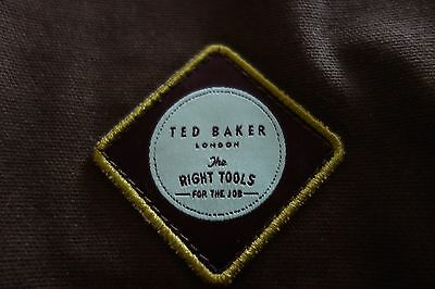 """BNWOT Ted Baker """"Right Tools"""" wash toiletry Bag khaki canvas"""