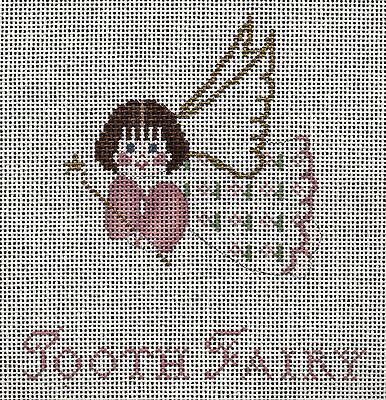 Petei Tooth Fairy Painted Needlepoint Canvas