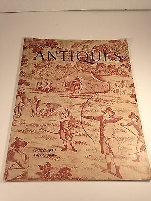 The Magazine: ANTIQUES July 1938 Issue