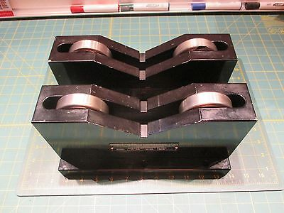 Machinist Tools * Roller Bearing V-Blocks * Uptech Engineering * Matched