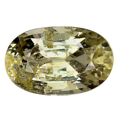 1.580Ct Resplendent Top Luster Yellow Natural Sapphire Oval Loose Gemstones