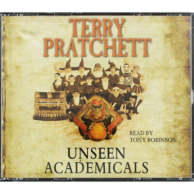 Unseen Academicals - Audio Book by Terry Pratchett (CD), Audio Books, Brand New