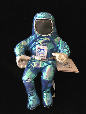 Intel BUNNY PEOPLE Blue Green Tech Pentium II Soft Toy Advertising Computers '97