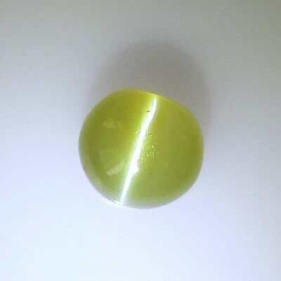 0.85Ct Natural Chrysoberyl Cat's Eye ~ Honey Color ~ Sharp Line ~ Exclusive