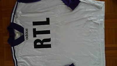 RARE Maillot football  VINTAGE RTL  TAILLE xl