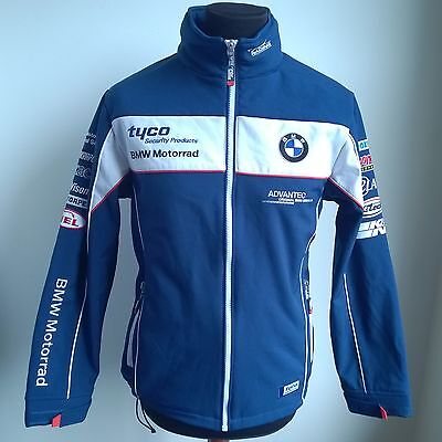 Tyco Bmw Motorrad Racing Pit Jacket Superbike Coat Tas Clinton Size Adult M