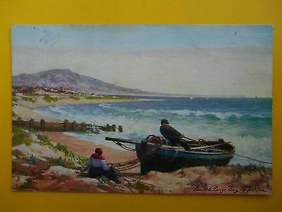 A YOUNG Leven & Largo Bay Fife *Vintage* Tucks Oilette 1908 Fishing Boat