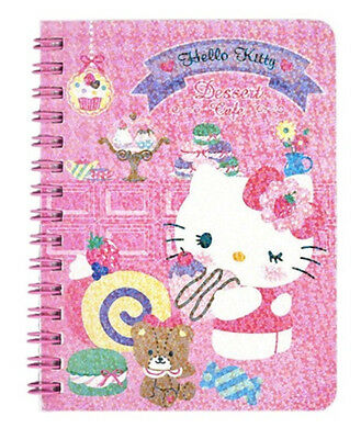 2017 Sanrio Hello Kitty Laser Cover Notebook ~ small size