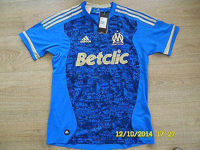 Adidas Olympique Marseille Trikot OM jersey France Ligue 1