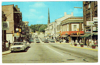 Main Street Looking South, Galt, Ontario Post Card