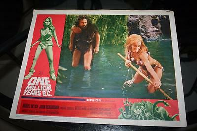 One Million Years B.c 1966 Original Movie Lobby Card No 5 In Excellent Cond