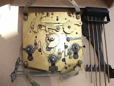 Westminster Chime Clock Movement & Chime Bars