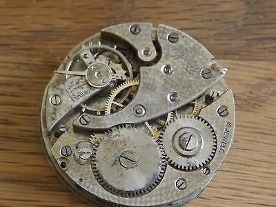Quality Antique 15 Jewels Pocket Watch Movement